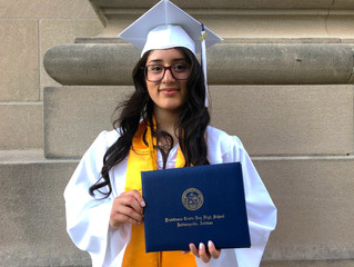 2018 Salutatorian: Yoselin Martinez