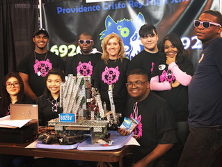 Robotics Team Wins Award at State Competition