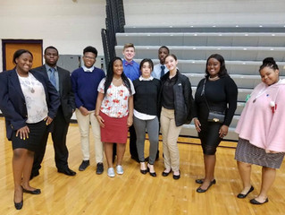 DECA Team Advances to State Competition
