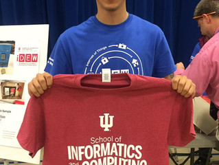 Senior Awarded First Leading Informatics for Tomorrow Scholarship from IUPUI