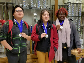 DECA Team Excels at District Competition