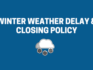 Winter Weather Delay & Closing Policy