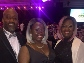 PCR Junior Receives Congressional Recognition & Award at UNCF Gala