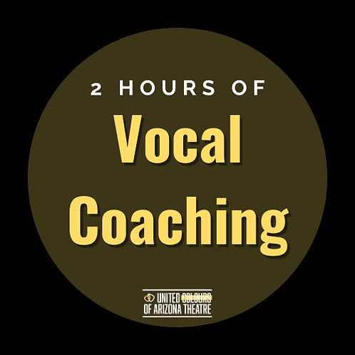 2 Hrs Vocal Coaching