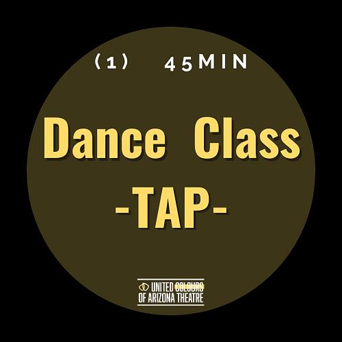 45 min Dance Class- TAP
