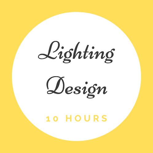 10 Hrs of Light Design