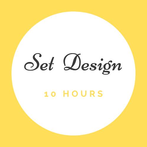 10 Hrs Set Design