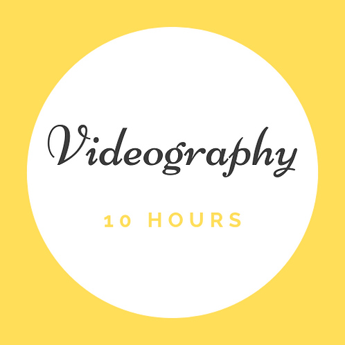 10 Hrs Videography
