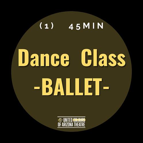 45min Dance Class- BALLET