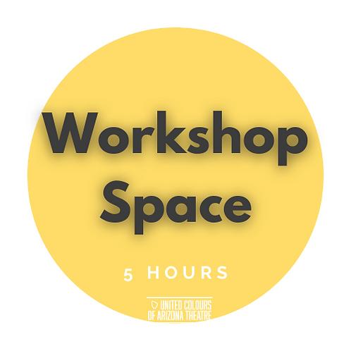 5 Hrs Workshop Space
