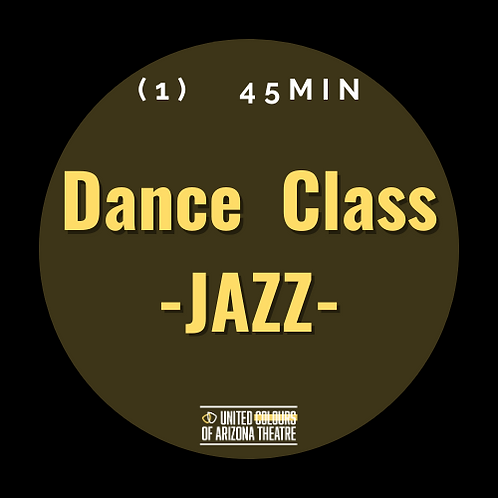 45 min Dance Class- JAZZ