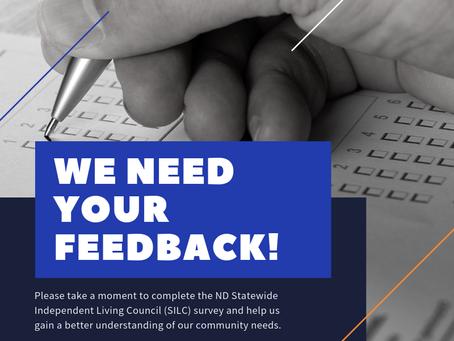 SILC Community Needs Assessment