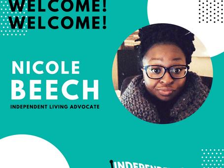 Welcome Nicole Beech!