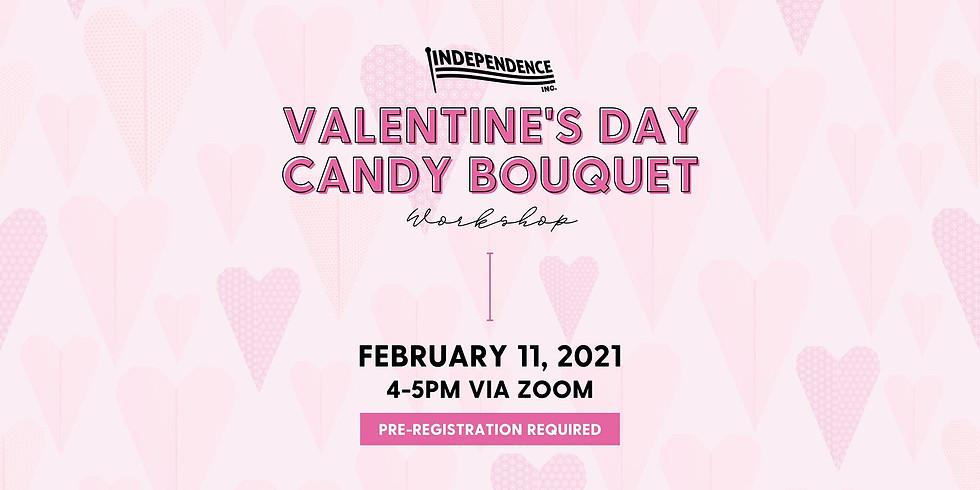 Valentine's Day Candy Bouquet Workshop