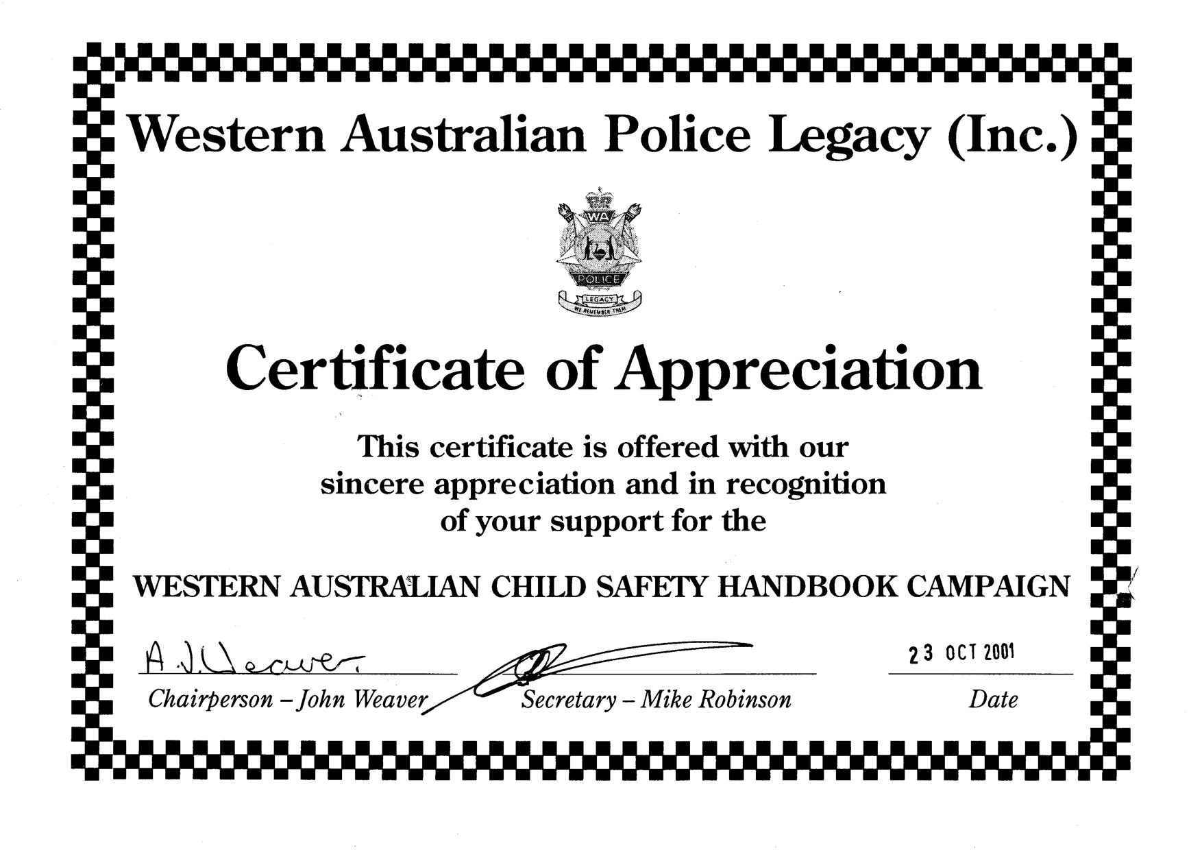 Policecertificate