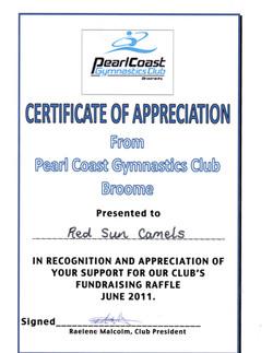 Pearl Coast Gymnastics June 2011