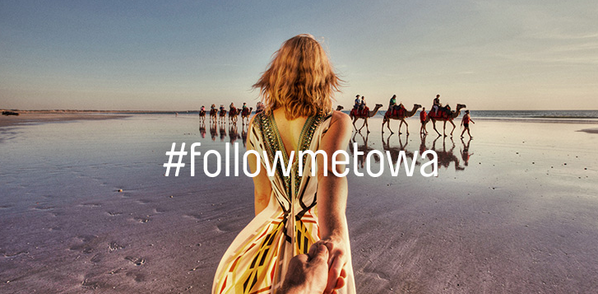 Tourism WA #followmetowa photoshoot