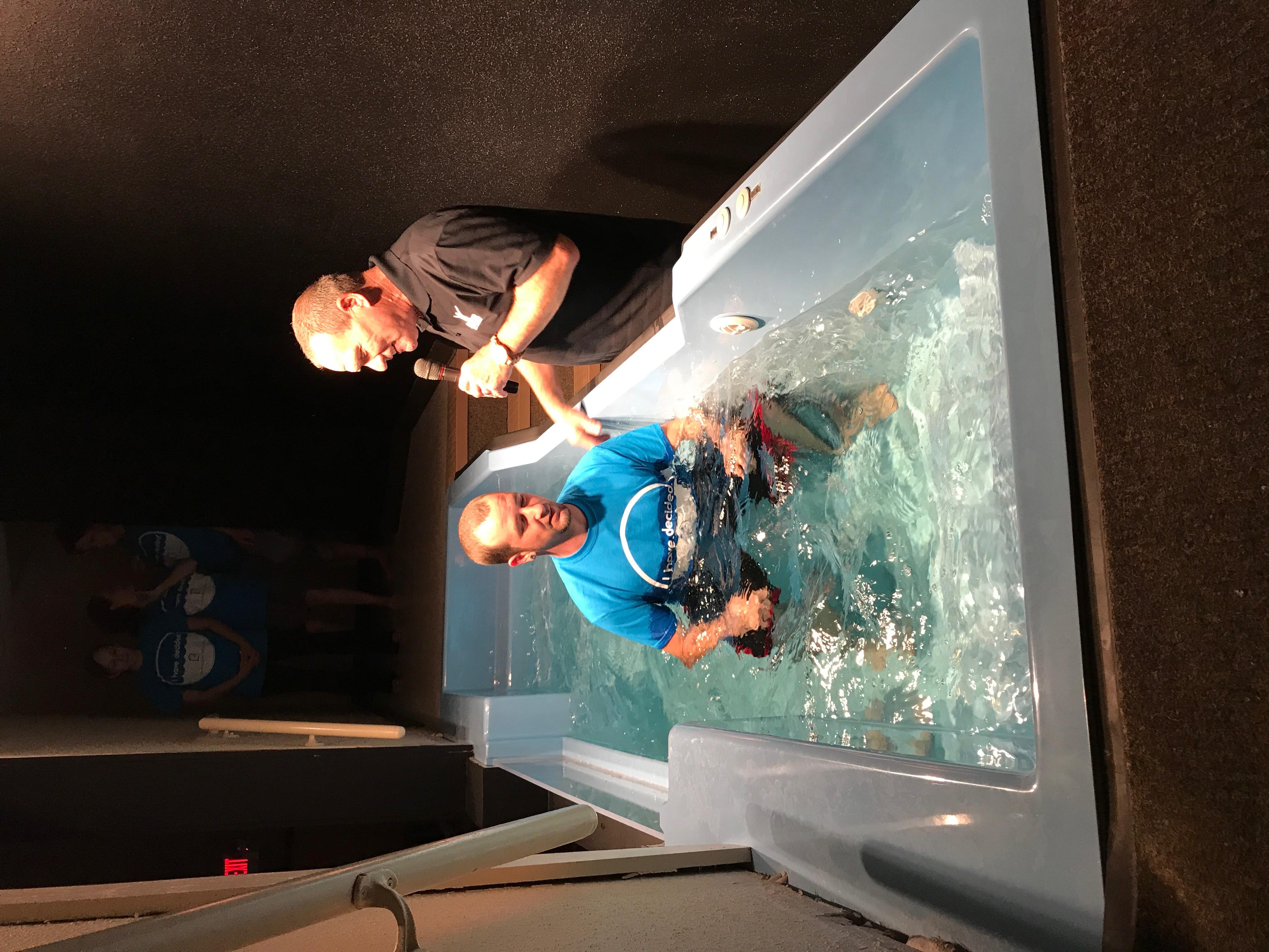 celebrate recovery baptisms