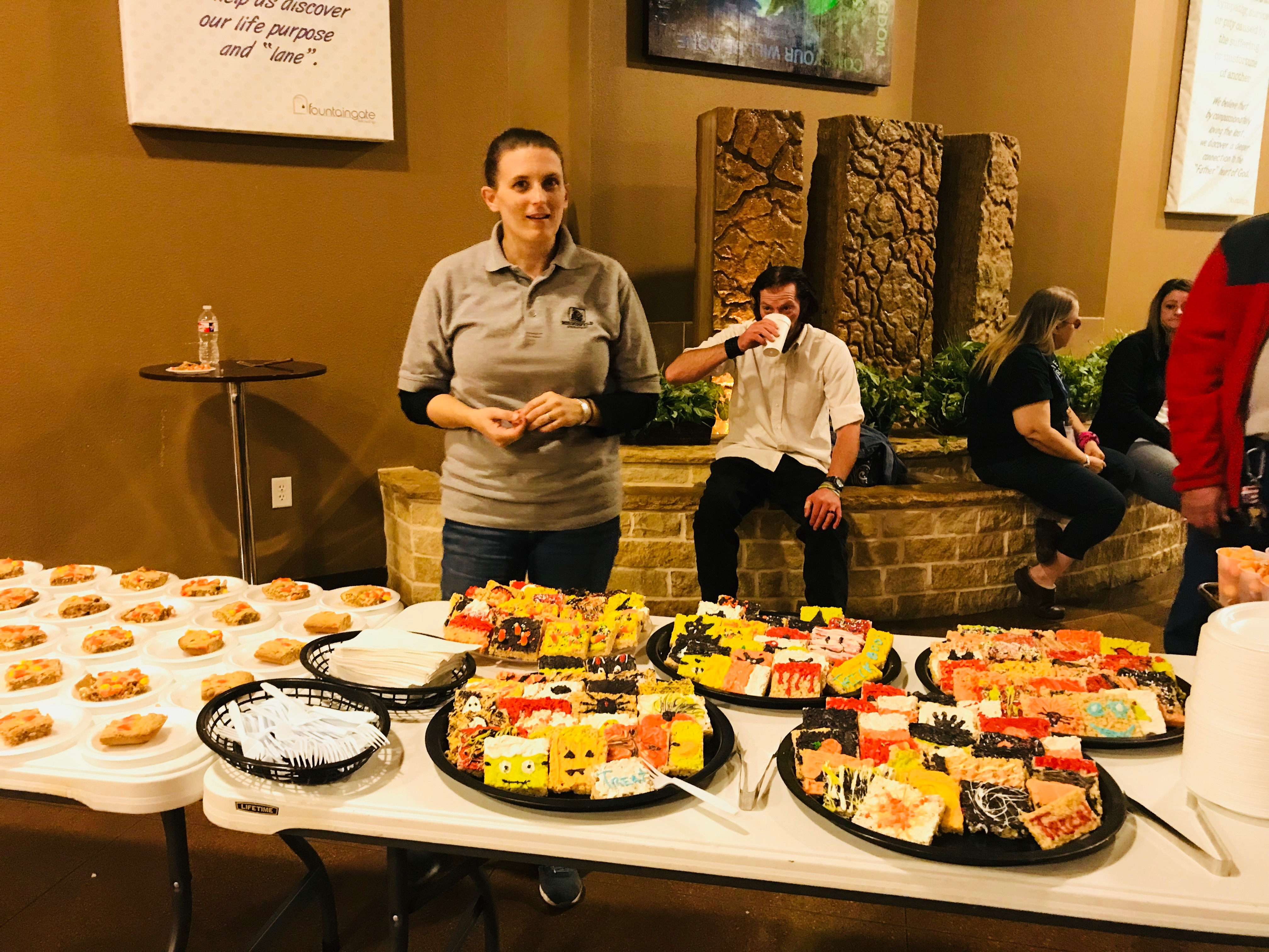 celebrate recovery dinner