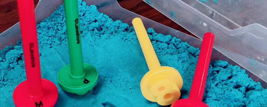 Kinetic sand!