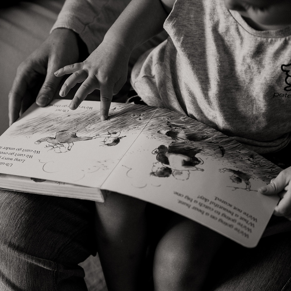 Never stop telling stories