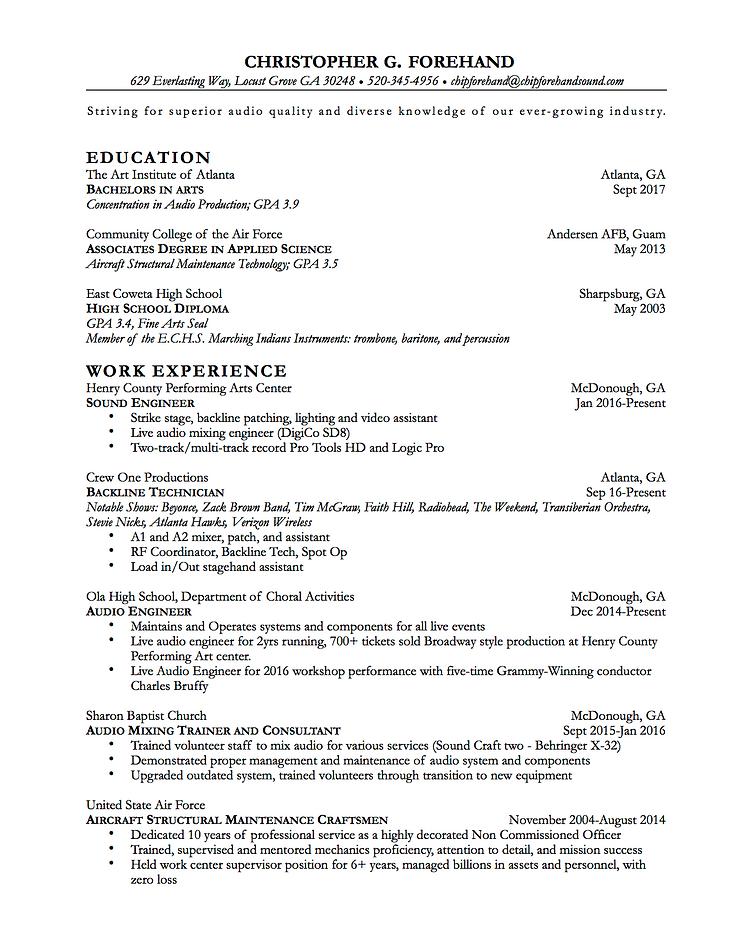 Home Cfund Resume