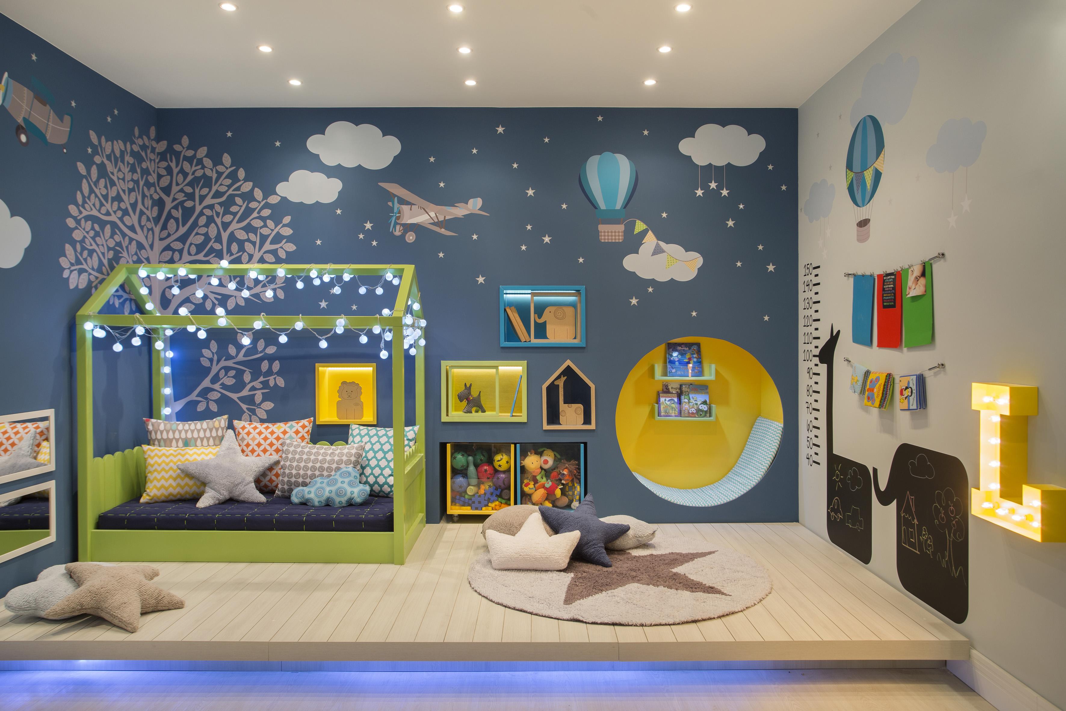 Um Para Cem Blog De Arquitetura Decor Design  ~ Quarto De Bebê Montessoriano E Quarto Para Adolescentes