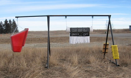 Promold A Frame coms with Cattle Oiler, Hanging Mineral Feeder and 2 to 4 Cattle Brushes