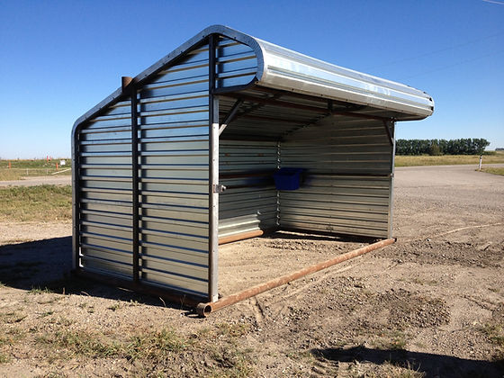 Promold Horse Shelter