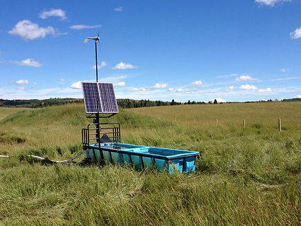 Solar and Wind powered cattle water systems