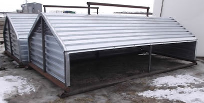 Promold Calf Shelter 16' Full Open