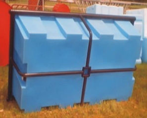 stationary water trough