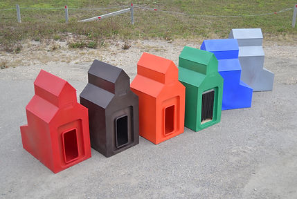 Grain Elevator Dog Houses