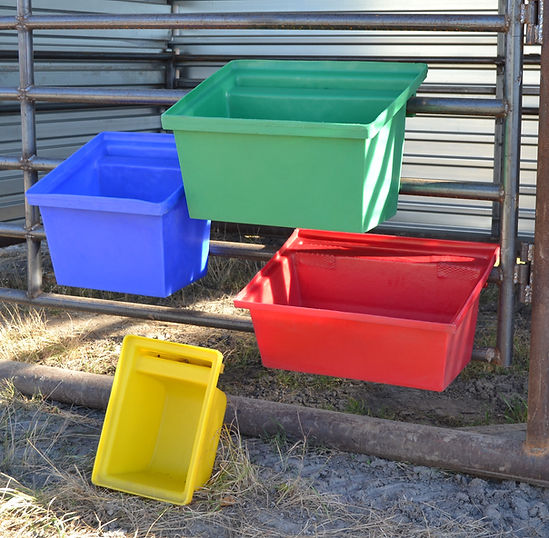 Promold Livestock Fence Feeders
