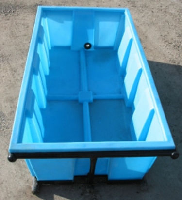 reinforced cattle water trough
