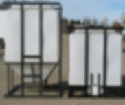 Promold Feed Dispensing Bins, liquid feed option available