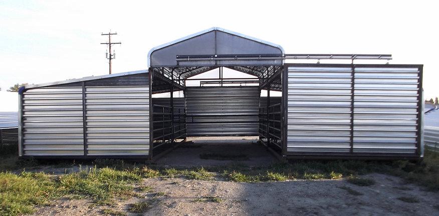 Promold 3 piece Livestock Barn