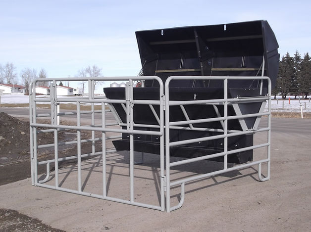 Promold Creep Feeder with panels