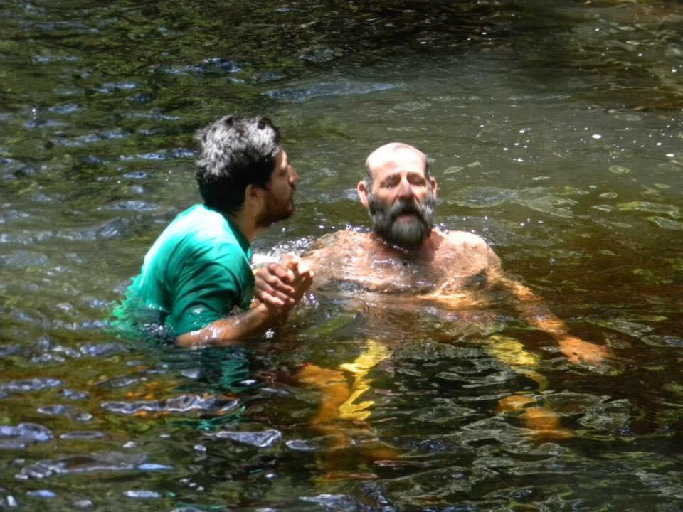 Yo te bautizo