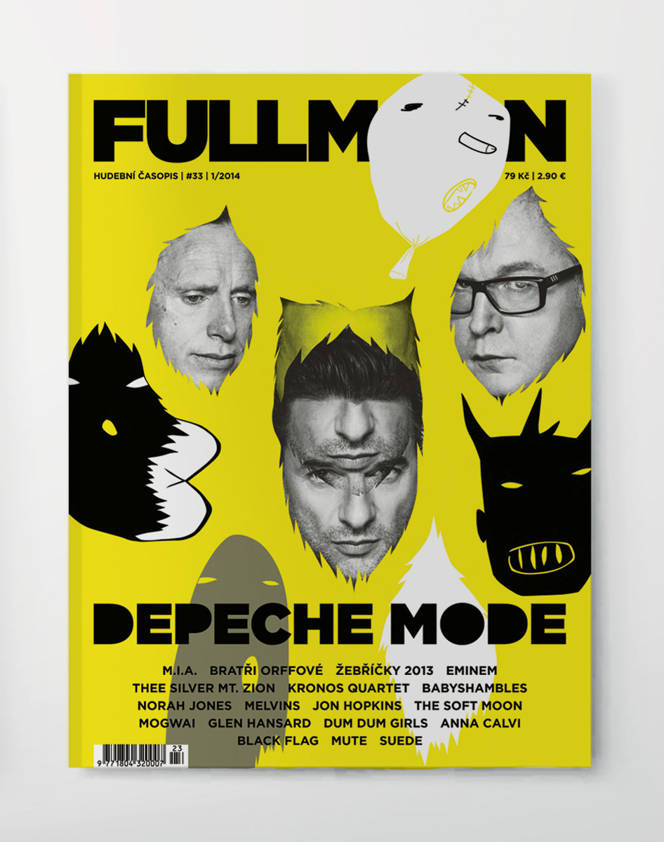 Full Moon magazine – cover