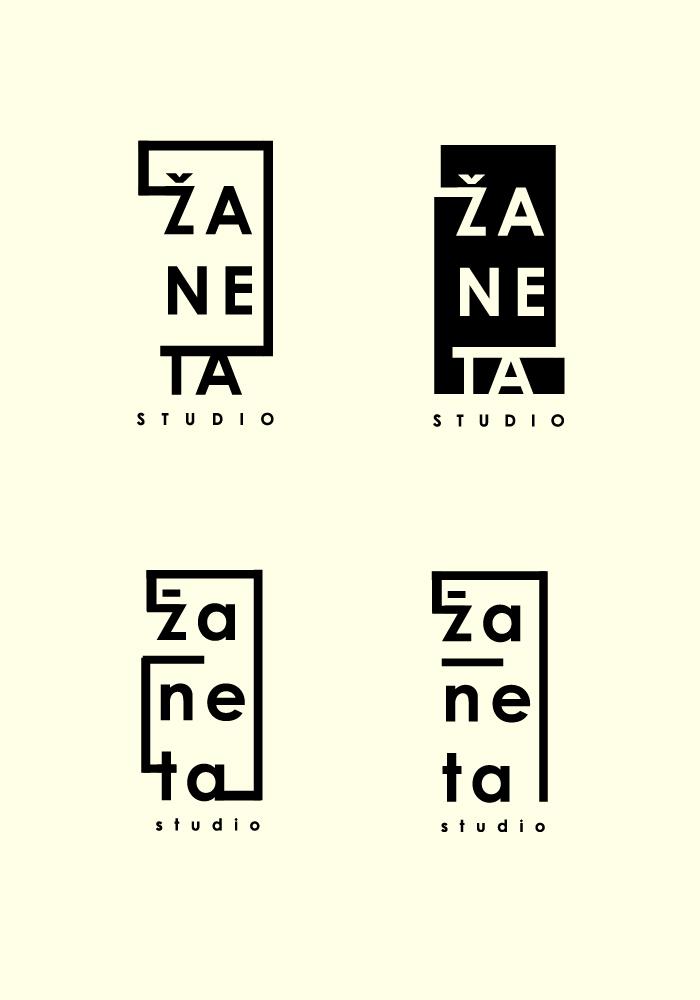 Zaneta Studio – logo concepts