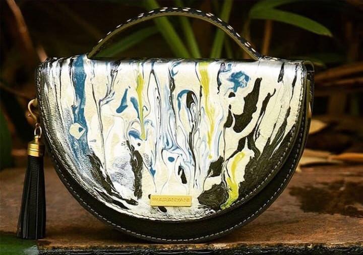 AW18 - Single edition handbag featuring original artwork