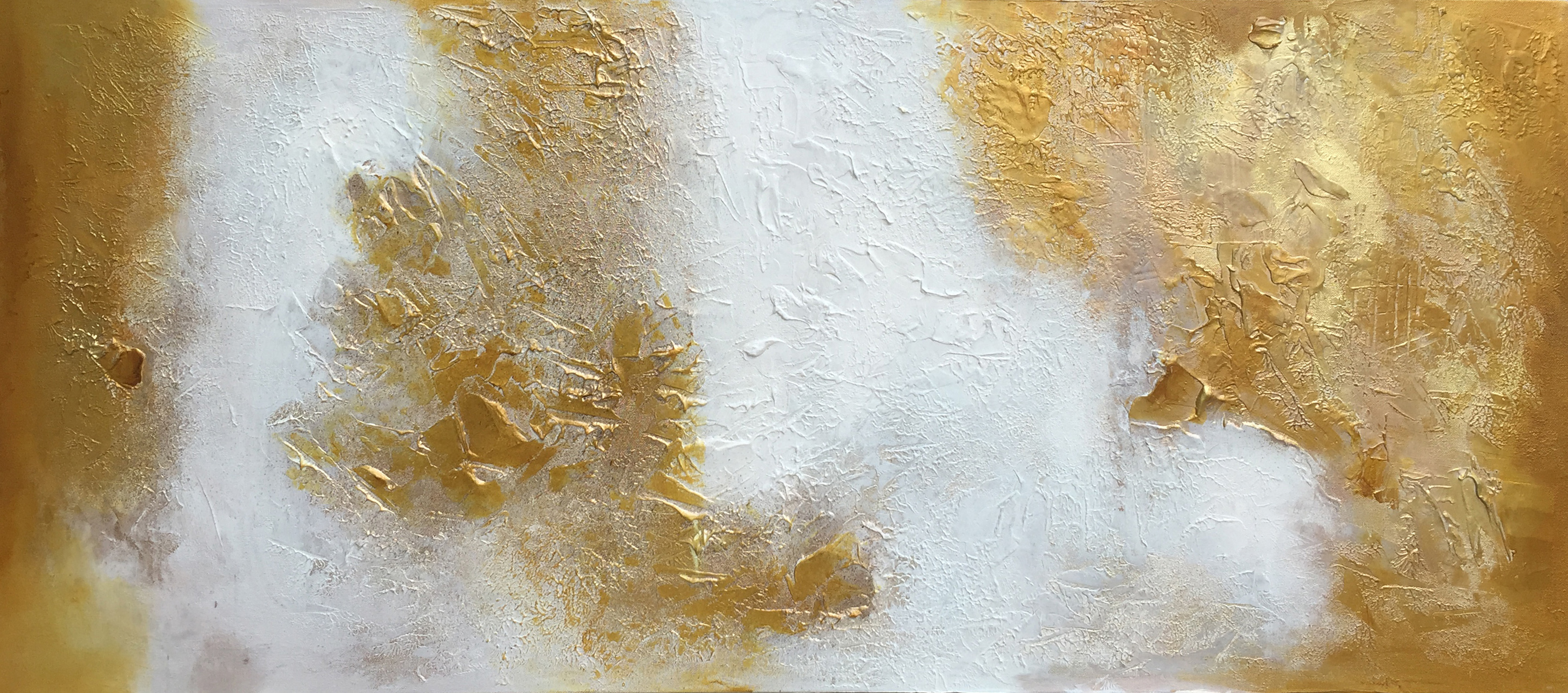 Poetry in Gold 36 -- 24 x 54