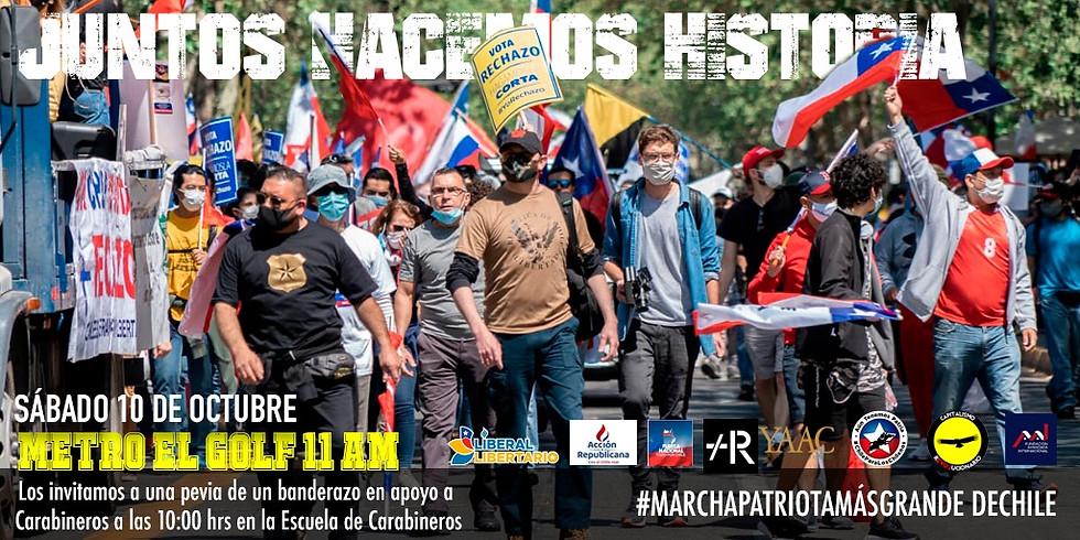 Artistas Marchan por la Libertad