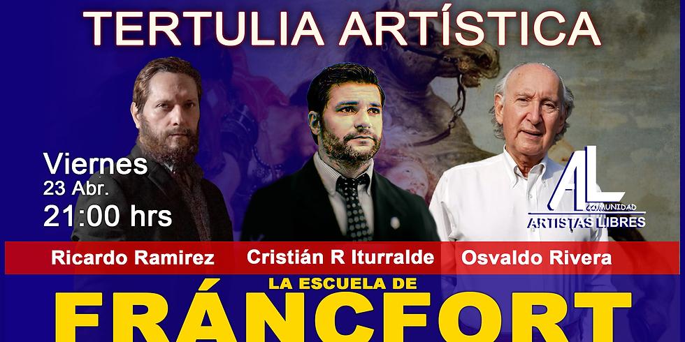 TERTULIA ARTÍSTICA 027 / LA ESCUELA DE FRÁNCFORT