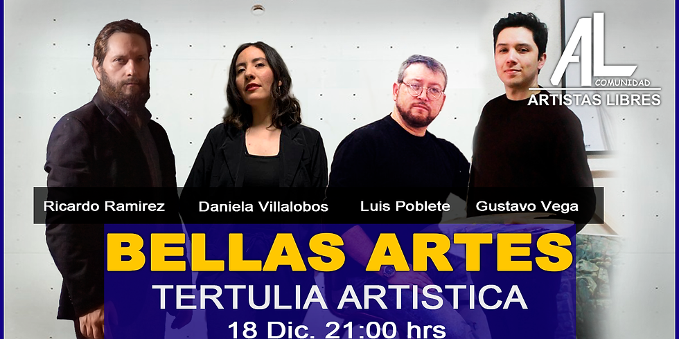 TERTULIA ARTÍSTICA 09 / Bellas Artes - Pintura Escultura