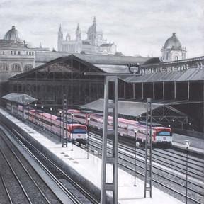 """Carlos Concha Vial - """"Prince Pio Station"""""""