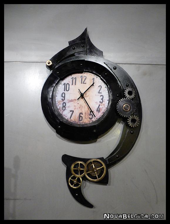 Steampunk klok