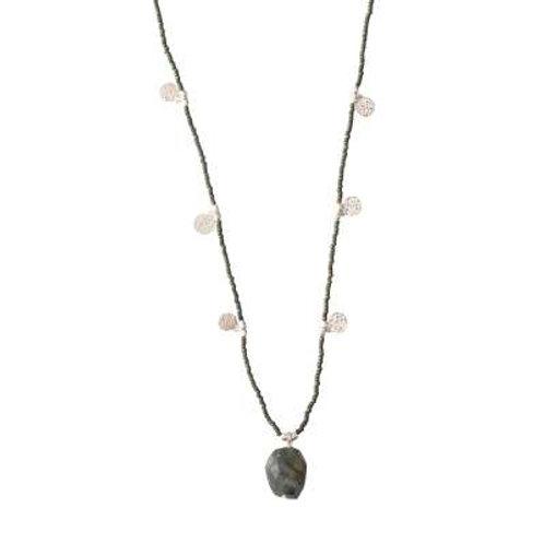 Charming Labradorit Silber Halskette