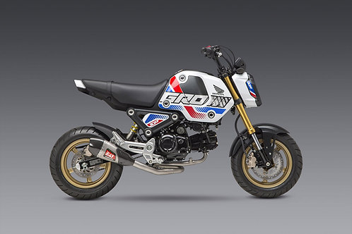 Yoshimura Grom 2021+ Race RS-9T Stainless Full Exhaust,  Stainless Muffler